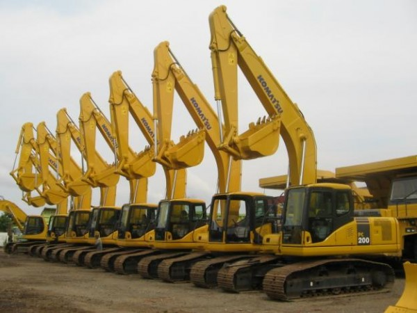 Rental Alat Berat (Heavy Equipment) meliputi :