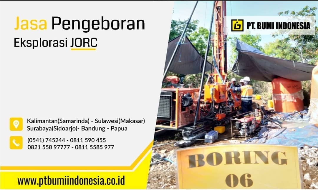Jasa Pengeboran Eksplorasi Batubara & Mineral