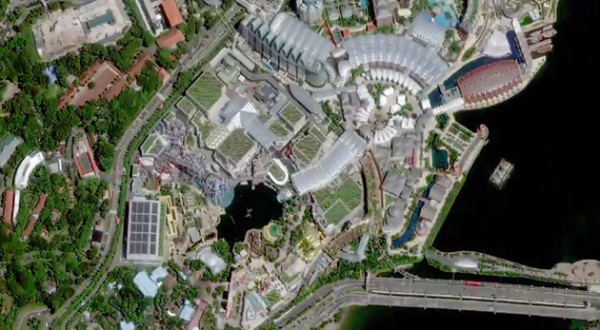 Jasa Pemetaan dengan Citra Satelit meliputi: